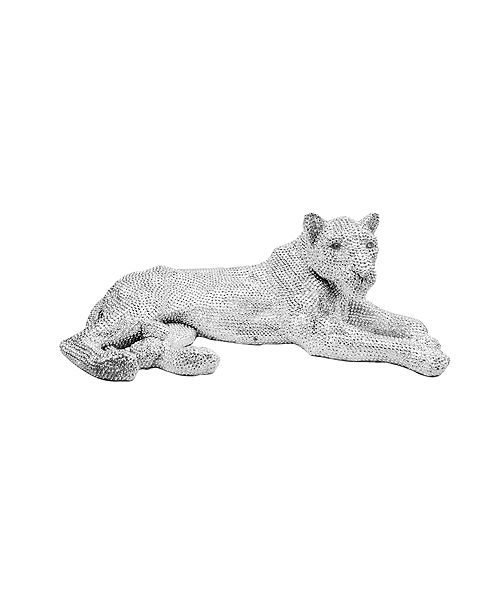 Moe's Home Collection Panthera Statue Silver