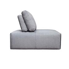 Nathaniel Slipper Chair Light Gray