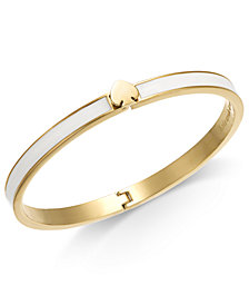 kate spade new york Gold-Tone Enamel-Fill Bangle Bracelet