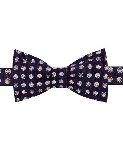 Tommy Hilfiger Men's Medallion To-Tie Silk Bow Tie