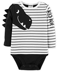 Carter's Baby Boys Double-Decker Dino Cotton Bodysuit