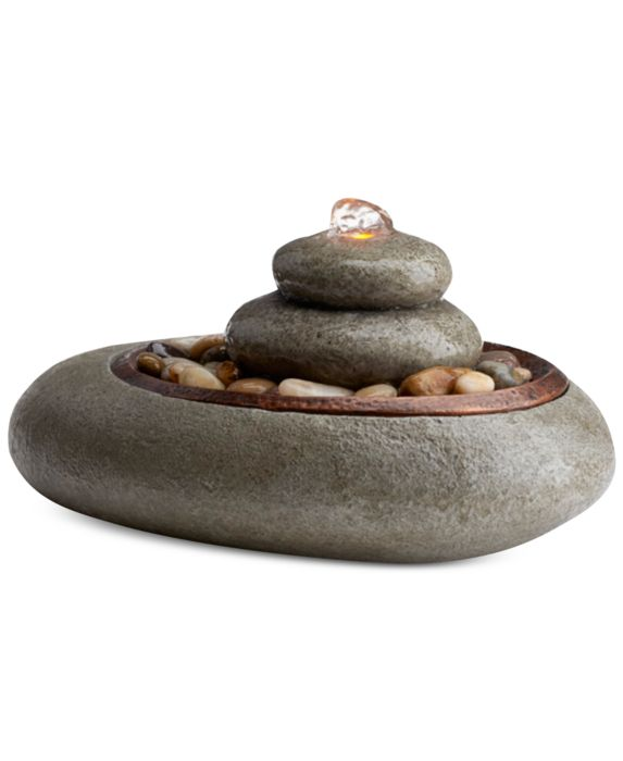 HoMedics Oceanside Relaxation Fountain, Tan/Beige, Size: No Size