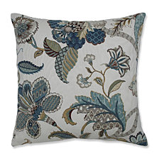 """Finders Keepers French Blue 18"""" Throw Pillow"""