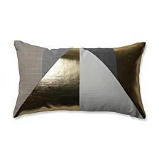 Avalon Gold Rectangular Throw Pillow