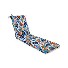 Paso Azure Chaise Lounge Cushion