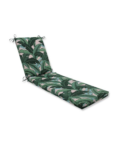 Pillow Perfect Swaying Palms Capri Chaise Lounge Cushion