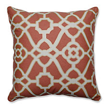 "Burnished Tile Spice 25"" Floor Pillow"