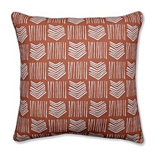 """Whythe Coral 25"""" Floor Pillow"""