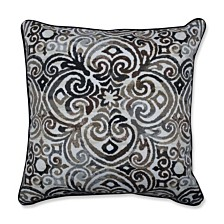 "Corinthian Driftwood 18.5"" Throw Pillow, Set of 2"