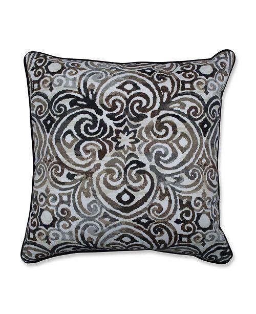 "Pillow Perfect Corinthian Driftwood 18.5"" Throw Pillow, Set of 2"