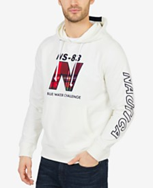 Nautica Men's Big & Tall Logo Hoodie