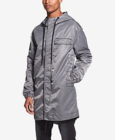 DKNY Men's Embroidered Logo Hooded Jacket