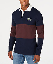 Lacoste Men's Colorblocked Rugby Polo
