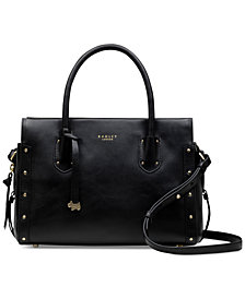 Radley London Zip-Top Studded Multiway Satchel