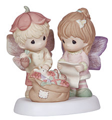 Precious Moments Christmas Memories Are Made With Love Figurine