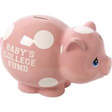 Baby's College Fund Piggy Bank, Girl