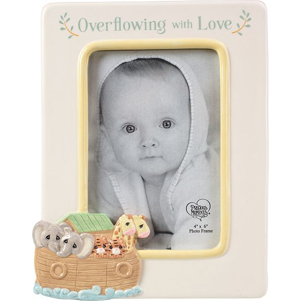 Precious Moments Overflowing With Love Noah's Ark 4x6 Photo Frame
