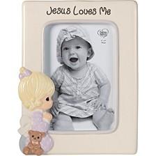 Jesus Loves Me Praying Girl 4 x 6 Photo Frame