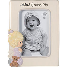Jesus Loves Me Praying Girl 4 x 6 Photo Frame