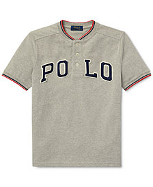 Polo Ralph Lauren Big Boys Cotton Mesh Henley T-Shirt