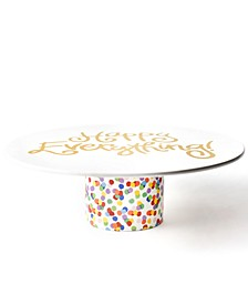 Happy Everything by Laura Johnson Collection Toss Cake Stand