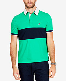 Nautica Men's Big & Tall Quilted Classic Fit Polo