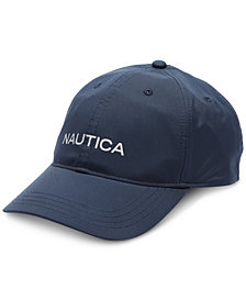 Nautica Men's Navtech Waterproof Rainbreaker Baseball Cap