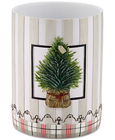 CLOSEOUT! Farmhouse Holiday Wastebasket