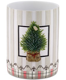 CLOSEOUT! Avanti Farmhouse Holiday Wastebasket
