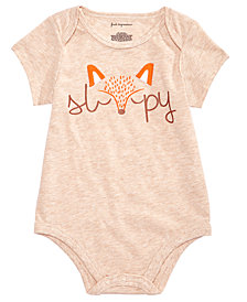 First Impressions Baby Boys Sleepy Bodysuit, Created for Macy's