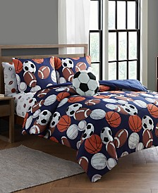 Lets Play 5 Pc Twin Comforter Set