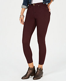 Style & Co Super-Skinny Brushed Ankle Jeans, Created for Macy's