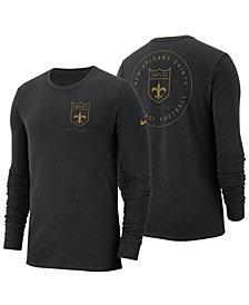 Nike Men's New Orleans Saints Heavyweight Seal Long Sleeve T-Shirt