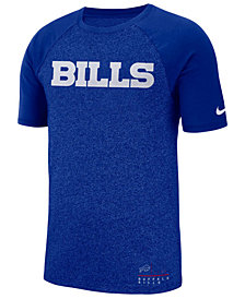 Nike Men's Buffalo Bills Marled Raglan T-Shirt