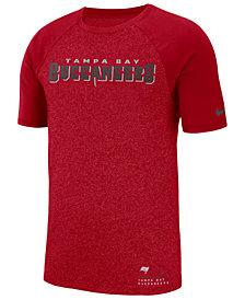 Nike Men's Tampa Bay Buccaneers Marled Raglan T-Shirt
