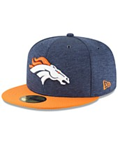 New Era Boys  Denver Broncos On Field Sideline Home 59FIFTY Fitted Cap 27ff64969d0