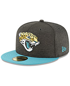 New Era Boys' Jacksonville Jaguars On Field Sideline Home 59FIFTY Fitted Cap