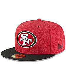 New Era Boys' San Francisco 49ers On Field Sideline Home 59FIFTY FITTED Cap
