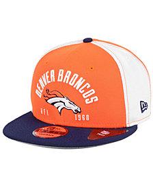 New Era Denver Broncos Establisher 9FIFTY Snapback Cap