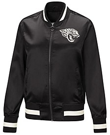 Women's Jacksonville Jaguars Touch Satin Bomber Jacket