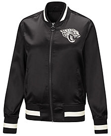 Touch by Alyssa Milano Women's Jacksonville Jaguars Touch Satin Bomber Jacket