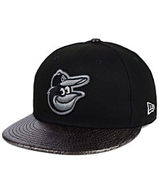 New Era Baltimore Orioles Snakeskin Sleek 59FIFTY FITTED Cap
