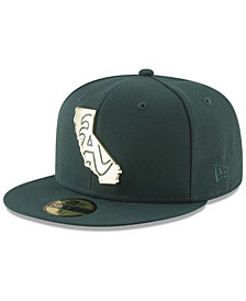 New Era Oakland Athletics Gold Stated 59FIFTY FITTED Cap