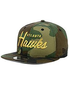 New Era Atlanta Hawks Classic Script 9FIFTY Snapback Cap