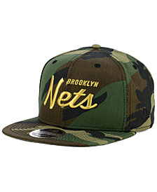 New Era Brooklyn Nets Classic Script 9FIFTY Snapback Cap