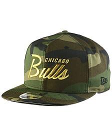 New Era Chicago Bulls Classic Script 9FIFTY Snapback Cap