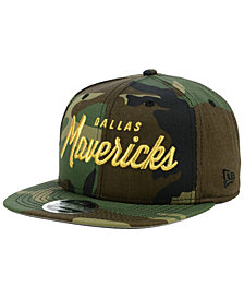 New Era Dallas Mavericks Classic Script 9FIFTY Snapback Cap