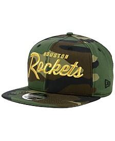 New Era Houston Rockets Classic Script 9FIFTY Snapback Cap