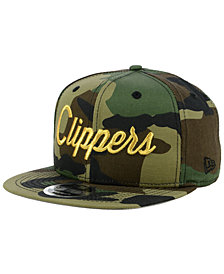 New Era Los Angeles Clippers Classic Script 9FIFTY Snapback Cap