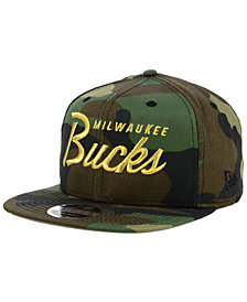 New Era Milwaukee Bucks Classic Script 9FIFTY Snapback Cap